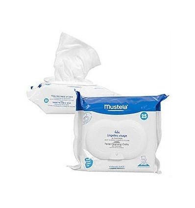 Mustela Wipes Face Physiobebé 25 units