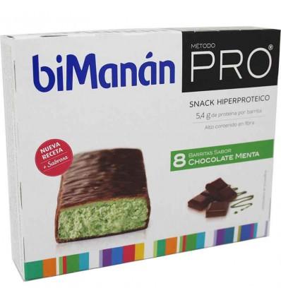 bimanan pro barrita chocolate menta