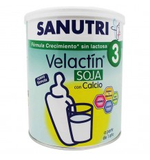 Sanutri Velactin Soja Crecimiento 800g