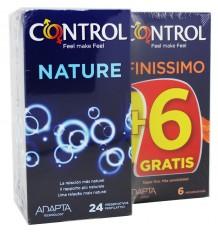 Controle Preservativos Nature 24 unidades