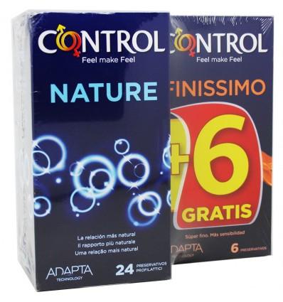 Contrôle des Préservatifs Nature 24 unités