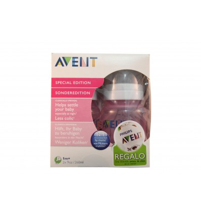 Avent Babyflaschen Pack 260 ml Rosa
