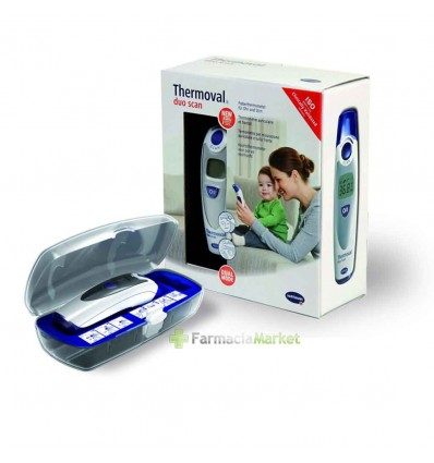 thermoval duo scan thermometer forehead ear