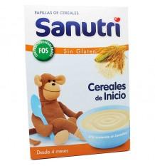 Sanutri Cereales Papilla Sin Gluten Fos Bifidus 600 g