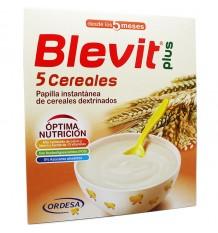 Blevit Plus Papilla 5 Cereales 600 g