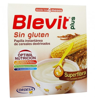 Blevit Plus Superfibra Cereales Sin Gluten 600 g
