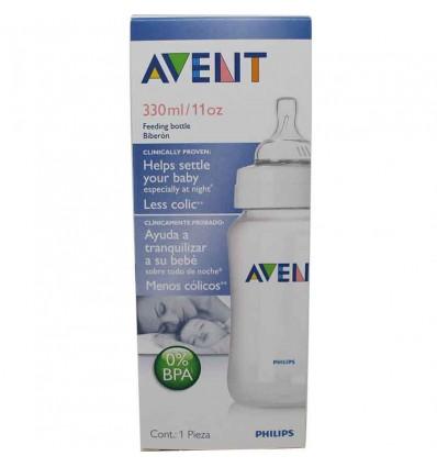Biberon Avent classic 330 ml transparente