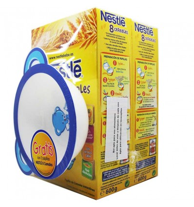 Nestle 8 Cereales Duplo 1200 g Regalo