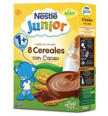 Nestle Cereales Papilla Cereales con cacao 600g