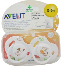 Avent Chupetes Classic 0-6 meses