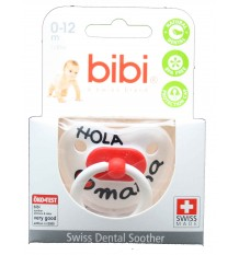 Bibi Soother Latex Hello Mama 0-12 months
