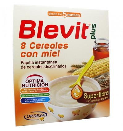 Blevit Plus Superfibra 8 cereales con miel 600 g