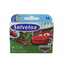 Tiras Salvelox Cars 14 unidades