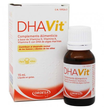 Dhavit vitaminas 15 ml