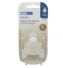 nipple bebedue silicone medium