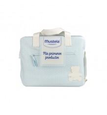 Mustela Bolsa Canastilla Mis Primeros Productos Azul
