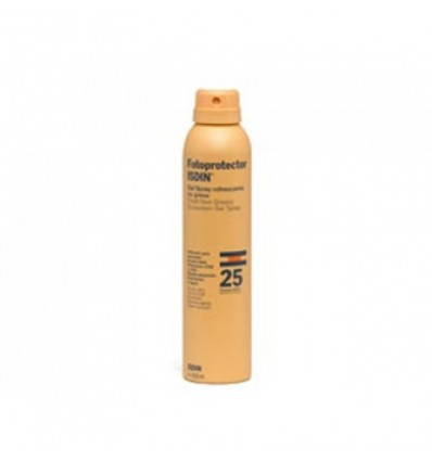 Fotoprotector Isdin 25 Gel Spray Transparente 200 ml