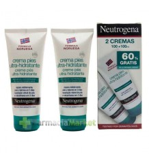 Neutrogena Pies Crema Duplo 200 ml