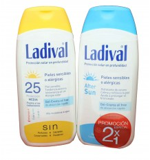 ladival protector solar 25