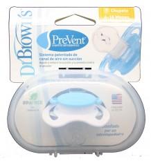 Dr Browns Chupete Ortodontico Prevent Azul talla 6-18 meses