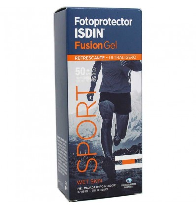 Fotoprotector Isdin 50 Fusion Gel Sport 100ml