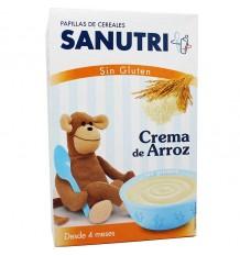 Sanutri Cereales Papilla Crema de arroz Sin Gluten 300 gramos