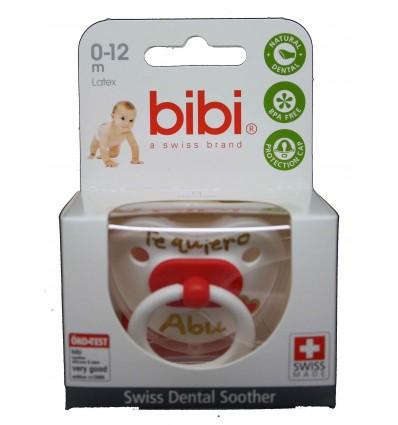 Bibi Chupete Látex Te quiero Abu 0-12 meses