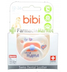 Bibi Soother Silicone I love You mama 12-36 months