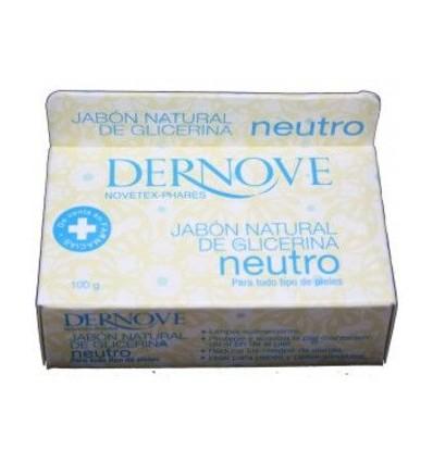 Dernove Jabon Natural de Glicerina Neutro 100 g