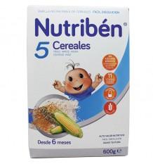 Nutriben 5 Cereais 600 g
