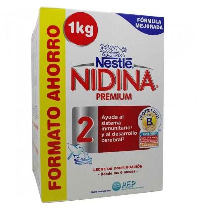 Nidina 2 premium 1000 g Formato poupança