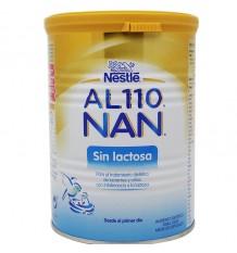 al nan 110 sin lactosa composicion
