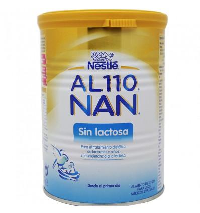 Al 110 Nan leche sin lactosa 400 g. Fabricante  Nan Optipro 8efbeaff206bf