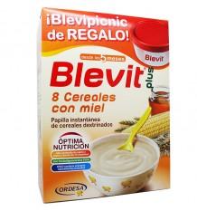 Blevit Plus Cereales Papilla 8 cereales y miel 600 g