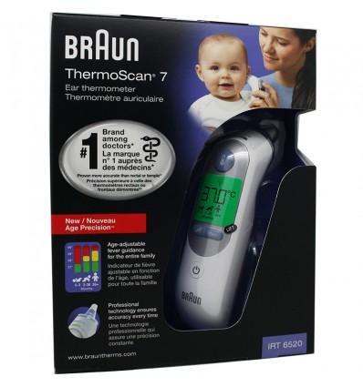 Braun Thermomètre Thermoscan IRT 6520