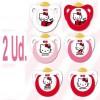 Nuk Chupete Latex Hello Kitty T1 2 unidades