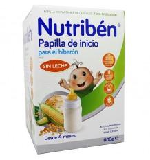 Nutriben Cereales Sin Gluten Biberon 600 g