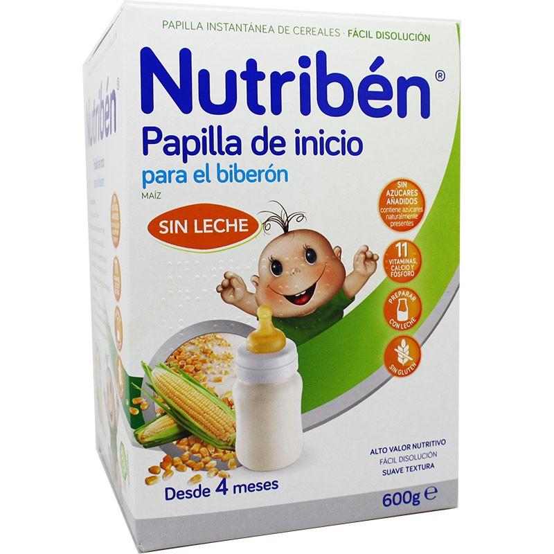 Nutriben Cereales Sin Gluten Biberon 600 g Mejores precios ...