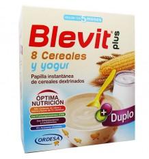 Blevit Plus Duplo 8 cereales Yogur 600g