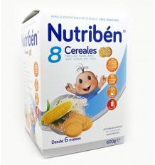 nutriben 8 cereal biscuit maria 600 grams
