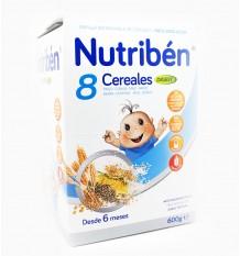 papilla nutriben 8 cereales bifidus