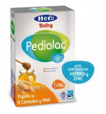Pedialac Cereales 8 cereales miel 500g