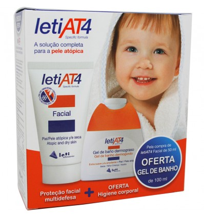 Leti At-4 Crema facial 50 ml Promocion