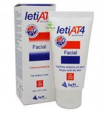 Leti At-4 Crema facial SPF 20 50 ml