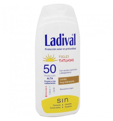 Ladival 50 Pieles Tatuadas 200 ml