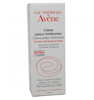 Avene Crema Pieles Intolerantes Enriquecida 50ml