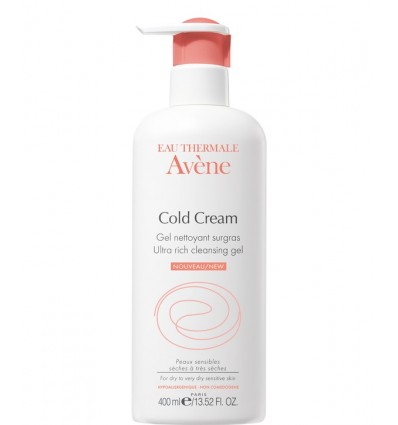 Avene Cold Cream Gel Limpiador 400 ml