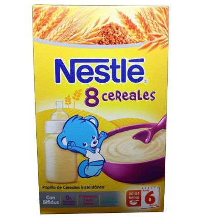 Nestle Cereales Papilla 8 Cereales 600g