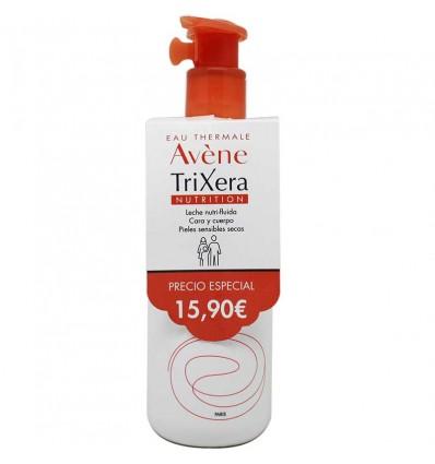 Avene Trixera Nutrition Leche Nutri fluida 400 ml