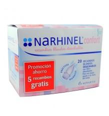 Narhinel Confort Recambios 20 unidades